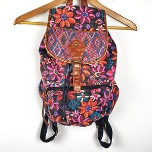 Mossimo | Floral Boho Festival Backpack Bookbag